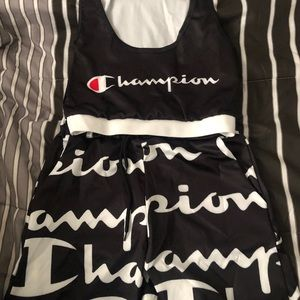 Champion sport top and bottom